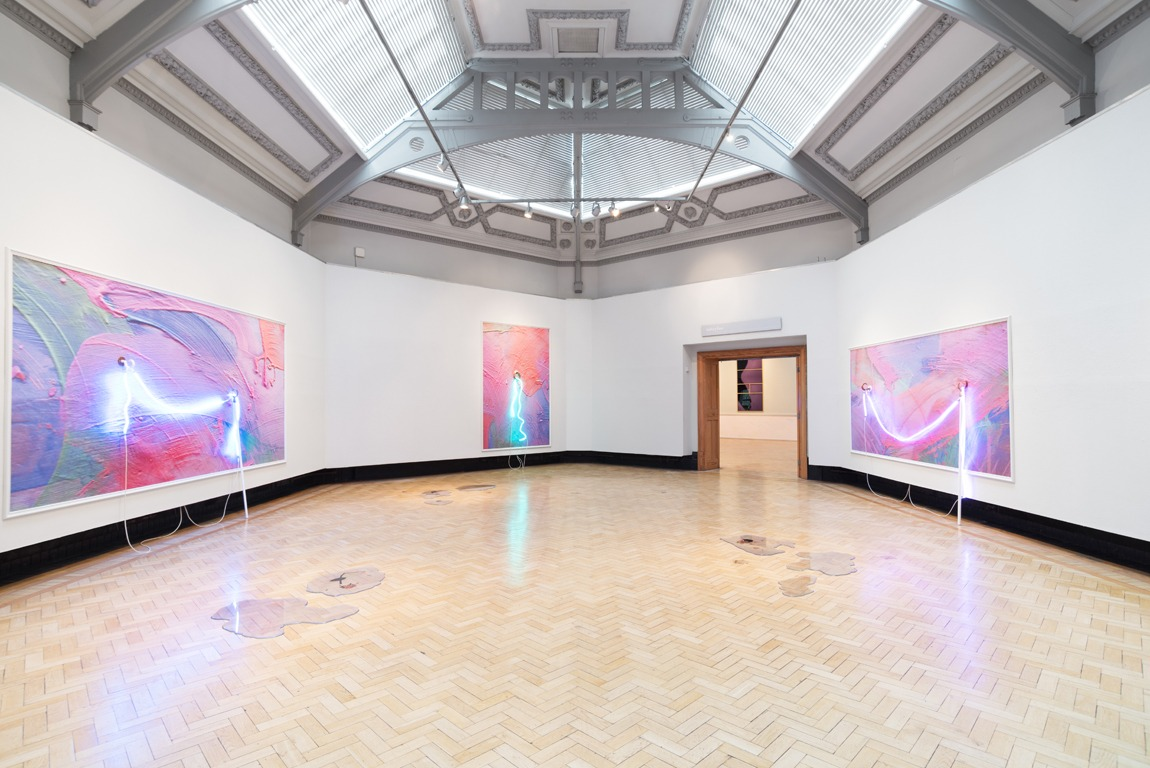 &laquo;Industrial Romantic&raquo;, 2017, Installation view, Rochdale Art Gallery, UK